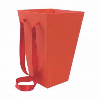 Caixa Buquê 30cmx20cmx12cm Vermelho