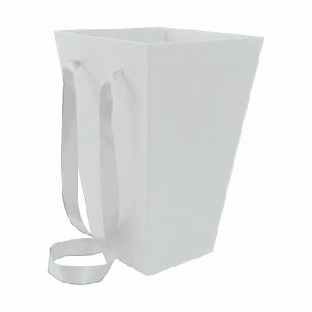 Caixa Buquê 30cmx20cmx12cm Branca