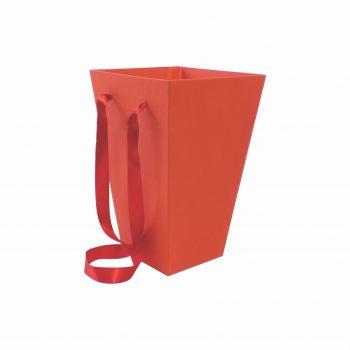 Caixa Buquê 20cmx15cmx10cm Vermelha