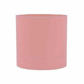 Cachepot Acrílico Redondo Liso 15cmx15cm 1pç Rosé