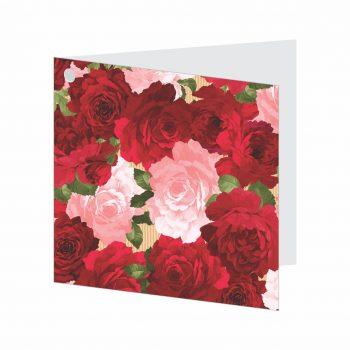 Cartão Lady Love 09cmx09cm 10pçs Vermelho