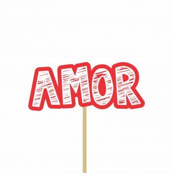 Pick MDF Valentine Amor 39mmx93mm 1pç Vermelho