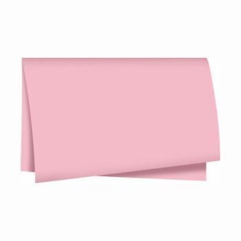 Papel Seda Liso 49cmx69cm 100fls Rosa