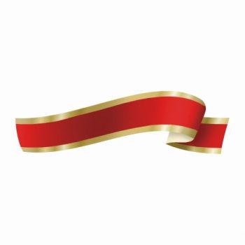 Fita Maxi FM 03D 32mmx100m Vermelho/Ouro