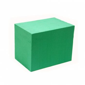 Espuma Floral Cubo T08 6pc Verde