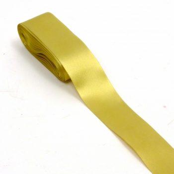 Fita Cetim Liso CF-009 38mm 10m Ouro
