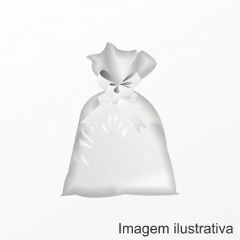 Saco Poli Liso 25cmx35cm 50pc Incolor