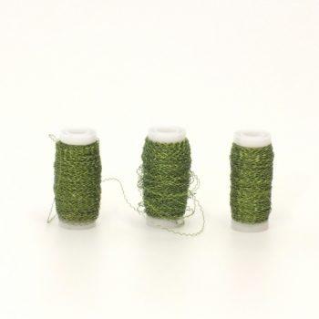 Arame Decorativo Ondulado 30g Verde