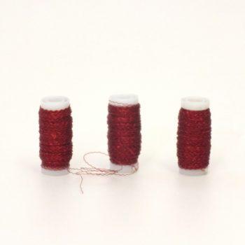 Arame Decorativo Ondulado 30g Vermelho