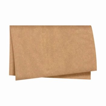 Papel Kraft Liso 68cmx79cm 25fls Natural