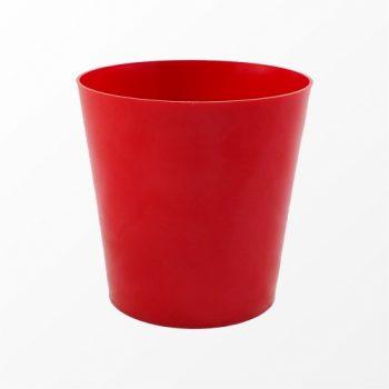 Cachepot Acrílico Cone Pote 11 Vermelho