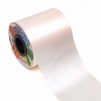 Faixa PP P/ Coroa Lisa 100mmx50m Branco