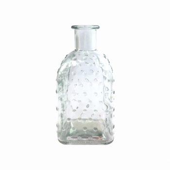 Vaso Spray Pois 13,1cmx6,5cmx3,5cm Incolor