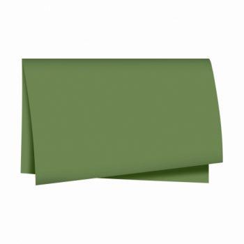 Papel Seda Liso 49cmx69cm 100fls Verde Oliva