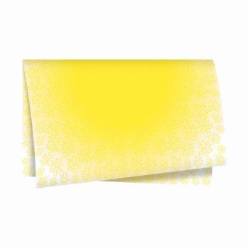 Poli Shadow 69cmx69cm 50fls Amarelo