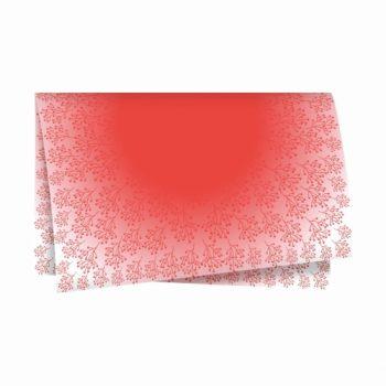 Poli Shadow 69cmx69cm 50fls Vermelho