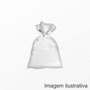 Saco Poli Liso 35cmx58cm 50pçs Incolor