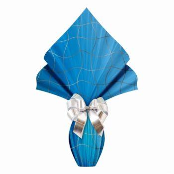 Poli Páscoa Metalizado Blocks 69cmx89cm 25fls Azul