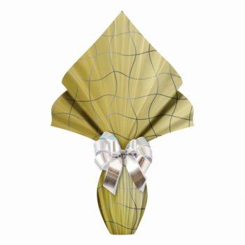 Poli Páscoa Metalizado Blocks 69cmx89cm 25fls Ouro