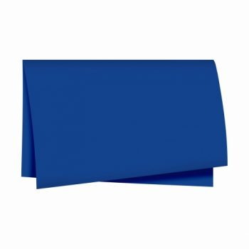 Papel Seda Liso 49cmx69cm 100fls Azul Escuro