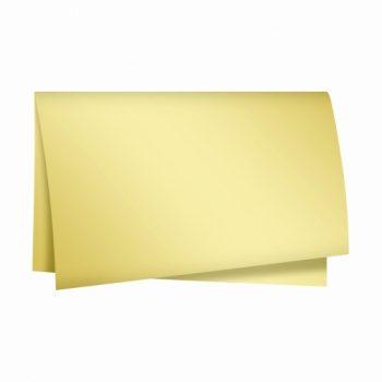 Papel Seda Metal 49cmx69cm 50fls Ouro